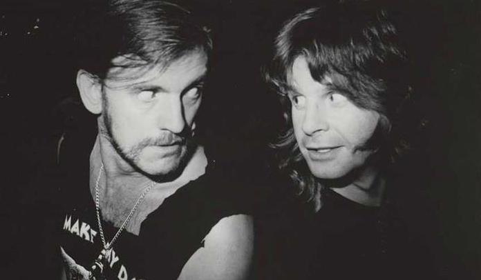 Ozzy Osbourne e Lemmy Kilmister