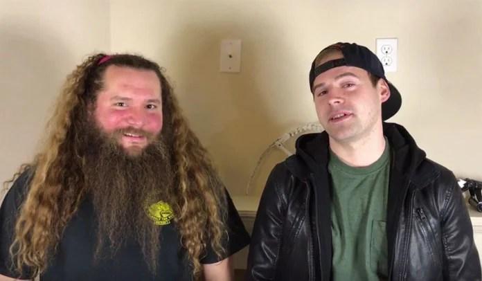O que acontece quando dois headbangers tentam compor uma música pop?