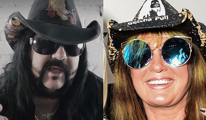 Rita Haney e Vinnie Paul