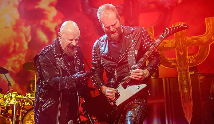 Rob Halford e Andy Sneap do Judas Priest