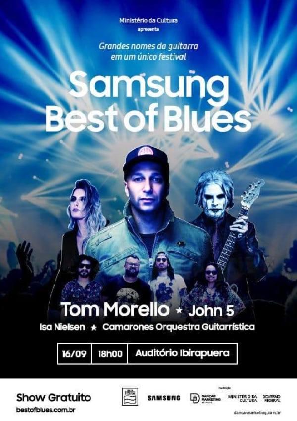 Tom Morello e John 5 confirmam shows gratuitos em São Paulo e Porto Alegre