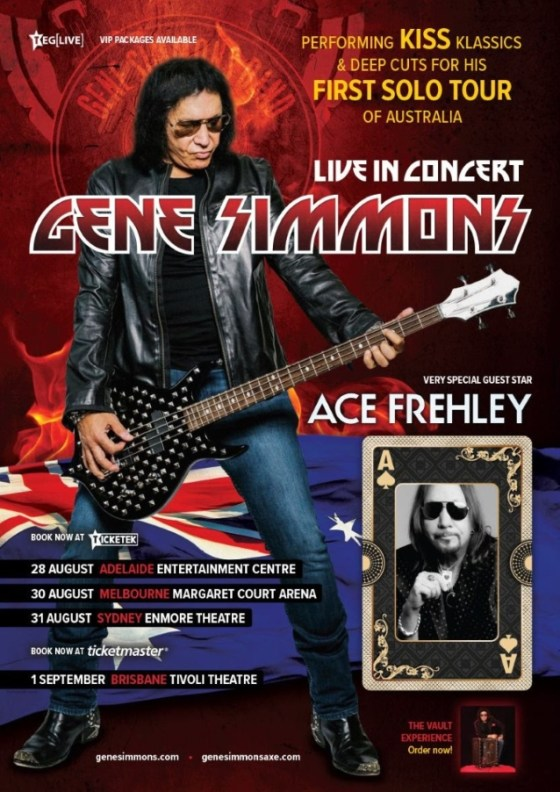 Ace Frehley e Gene Simmons