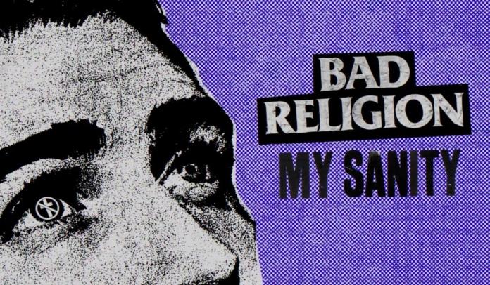 """Capa do single """"My Sanity"""", do Bad Religion"""