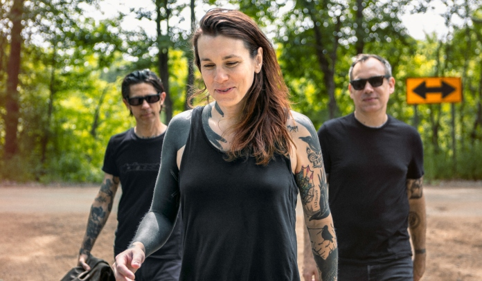 Foto da banda Laura Jane Grace & The Devouring Mothers