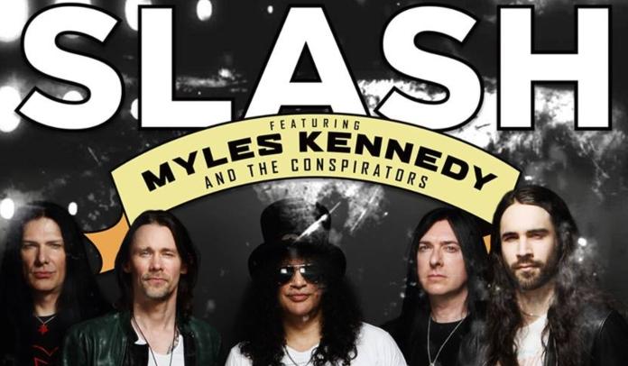 Slash ft. Myles Kennedy & The Conspirators no Brasil