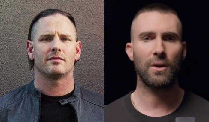 Corey Taylor chama Adam Levine de idiota
