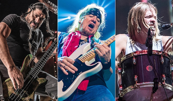 Metallica, Iron Maiden e Foo Fighters tocam juntos