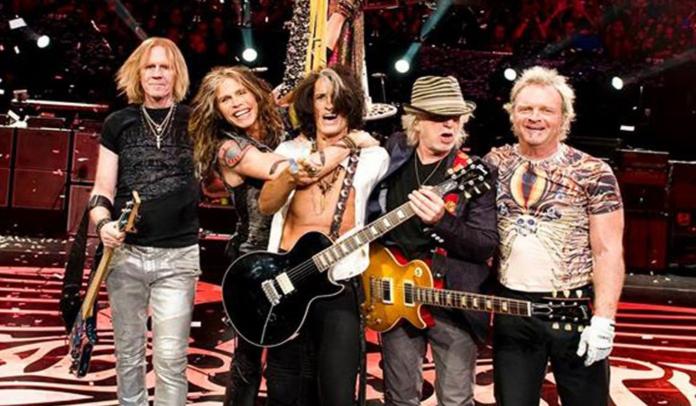 O Aerosmith ganhará uma estrela na Hollywood Walk Of Fame