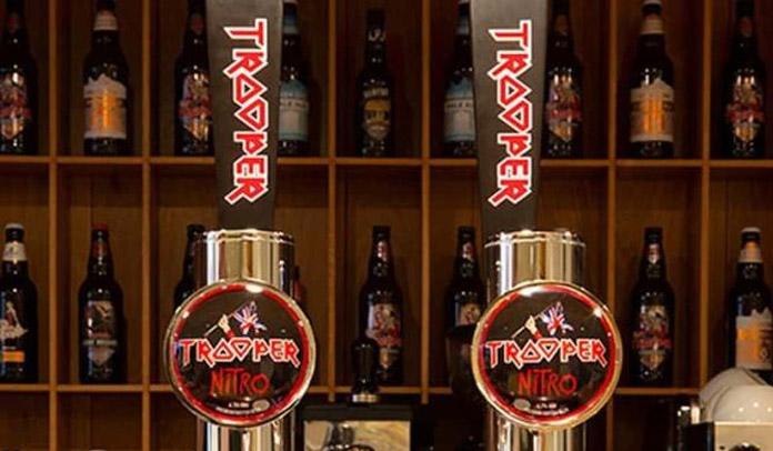 Iron Maiden lança nova versão de sua cerveja Trooper Beer