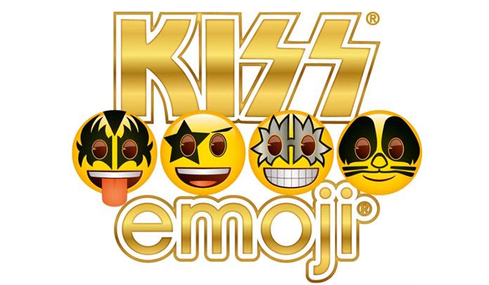 Kiss faz parceria com empresa de emoji