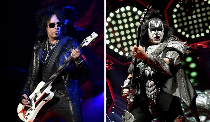 Nikki SIxx acusa Kiss de copiar turnê do Motley Crue
