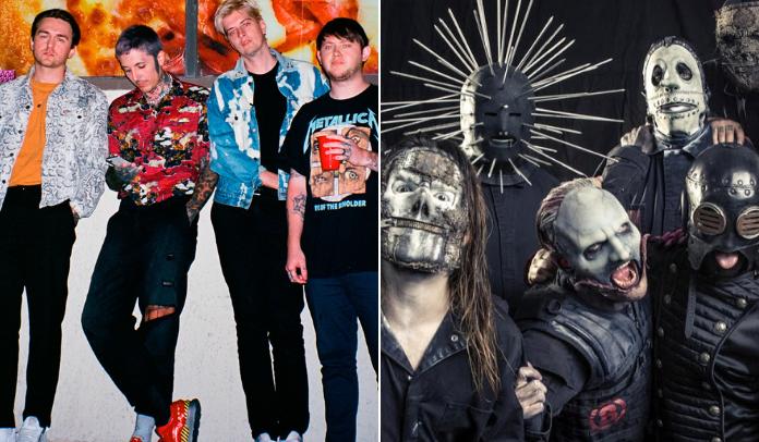 Bring Me The Horizon faz cover de Slipknot