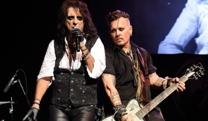 Alice Cooper e Johnny Depp