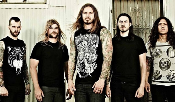 As I Lay Dying tem show cancelado