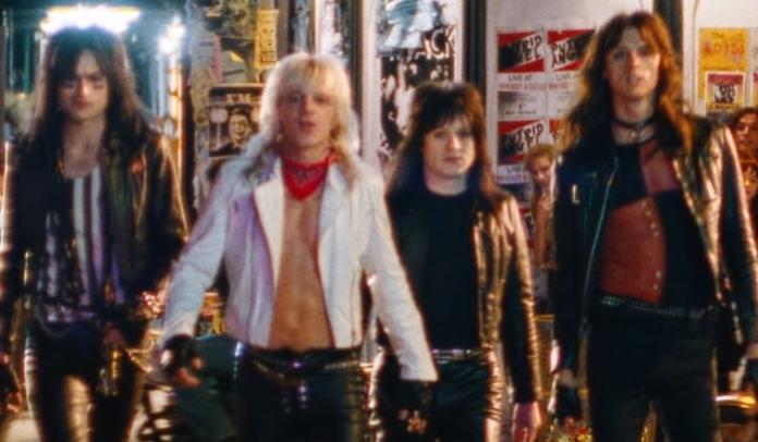 Mötley Crüe ganha primeiro trailer da cinebiografia The Dirt
