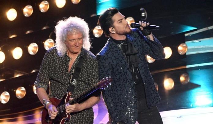 Queen e Adam Lambert abrem o Oscar 2019