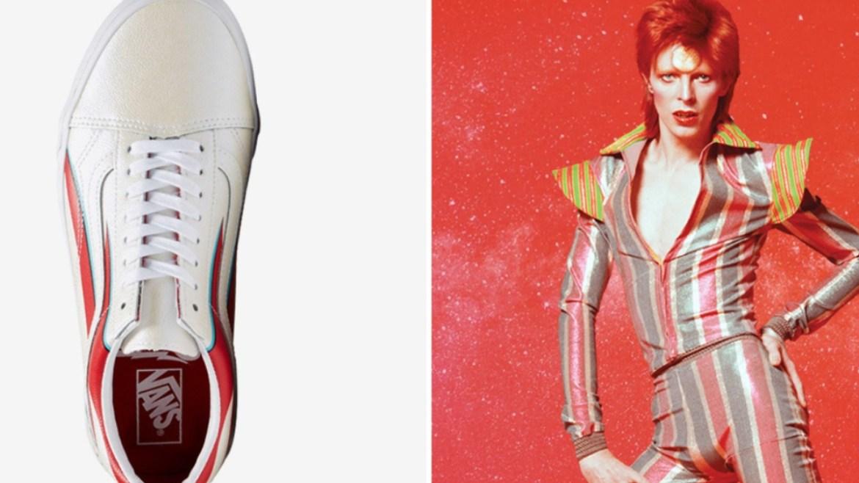 Vans lança tênis em homenagem a David Bowie