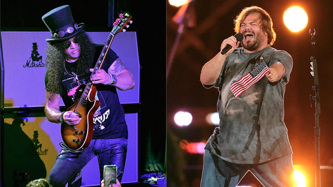 Lollapalooza Chicago - Slash e Tenacious D
