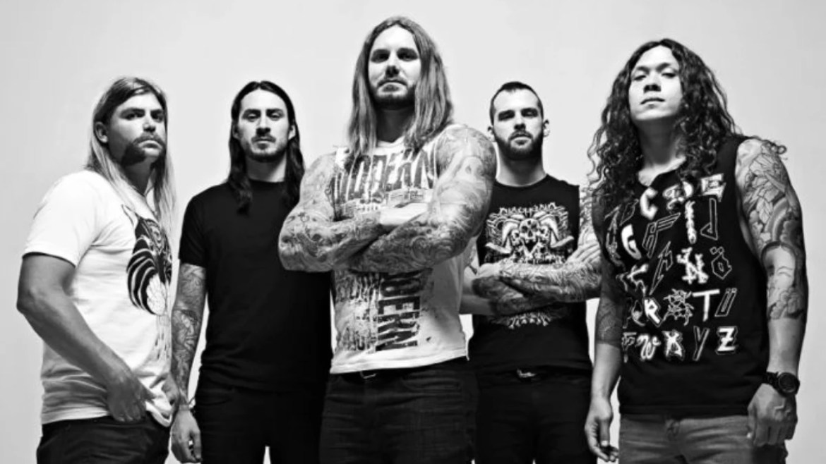 As I Lay Dying com Jake Luhrs