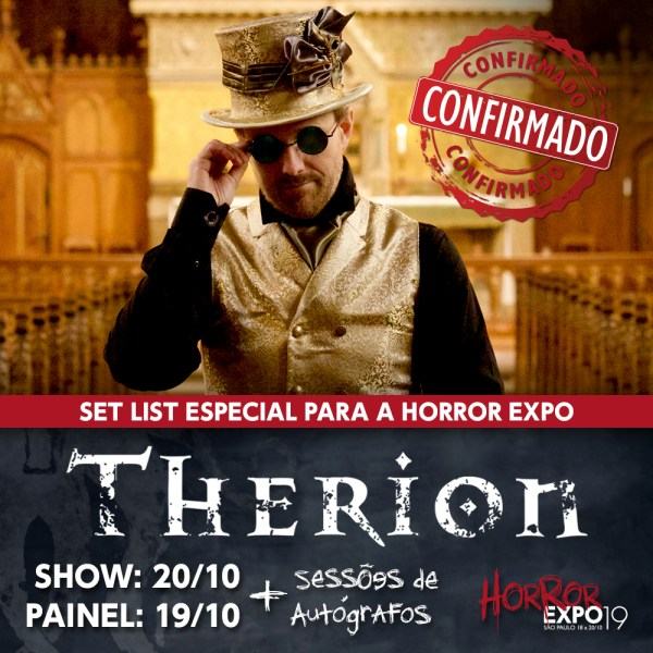 Therion na Horror Expo