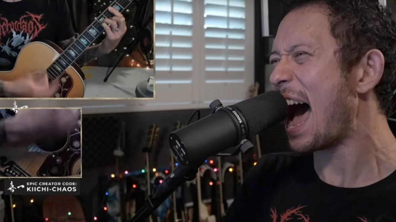 "Matt Heafy faz cover de ""Unsainted"" do Slipknot"