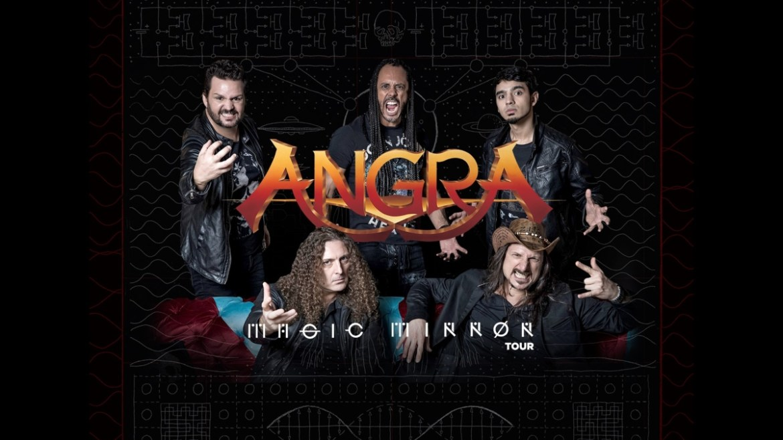 Angra apresentará turnê Magic Mirror em São Paulo
