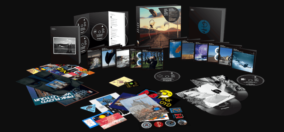 Pink Floyd anuncia box gigantesco da fase pós-Roger Waters