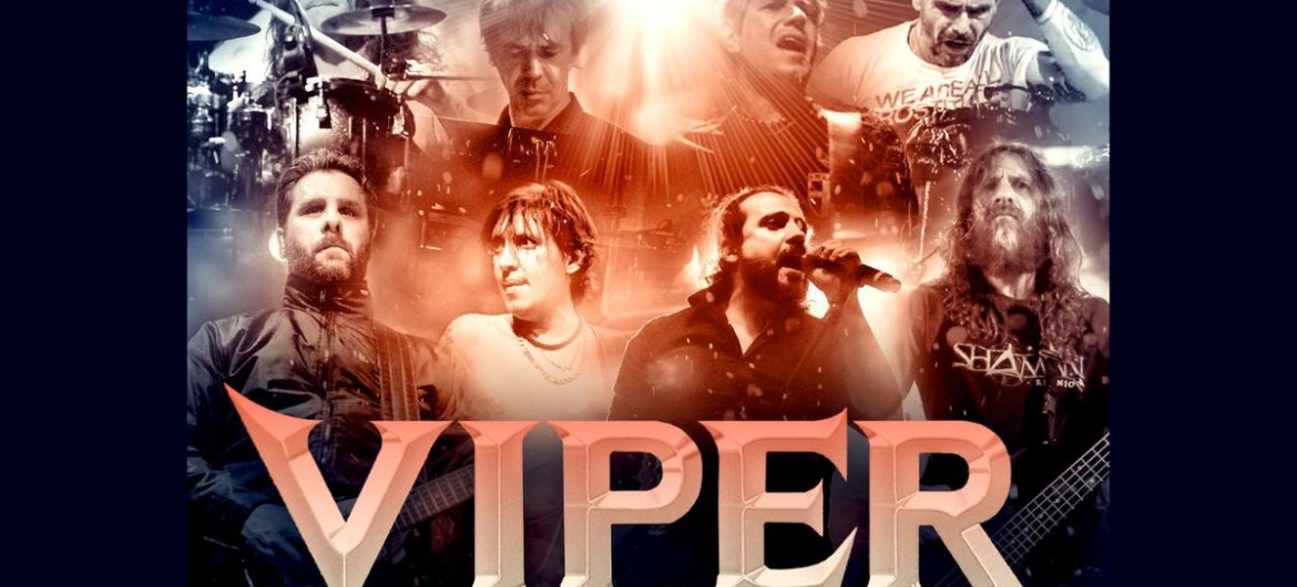 Viper anuncia 'Celebration Tour' com convidados e integrantes do Angra e Shaman