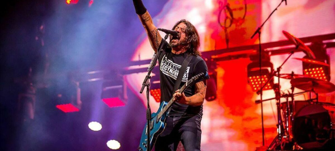 Dave Grohl do Foo Fighters