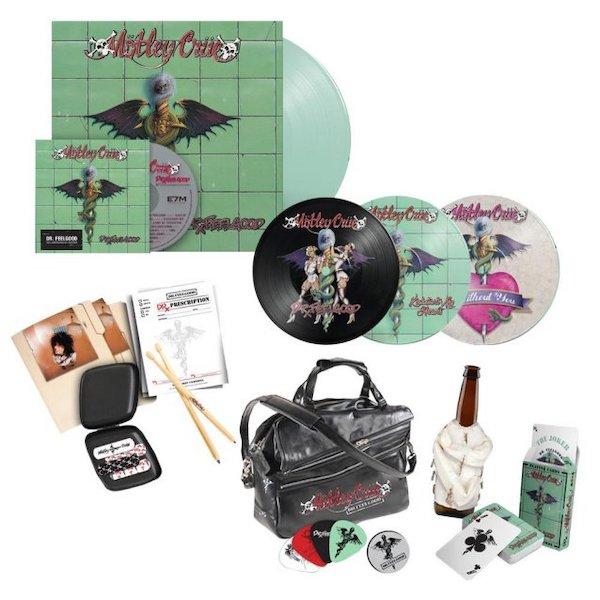 Mötley Crüe anuncia edição comemorativa de 30 anos de 'Dr. Feelgood'