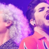 Adam Lambert e Brian May do Queen