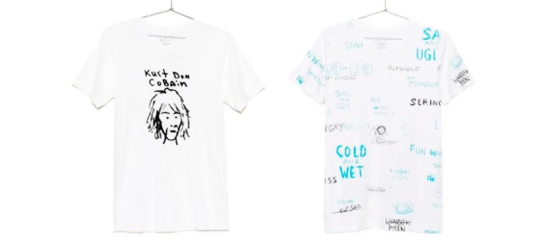 Nova coleção de roupas de Kurt Cobain