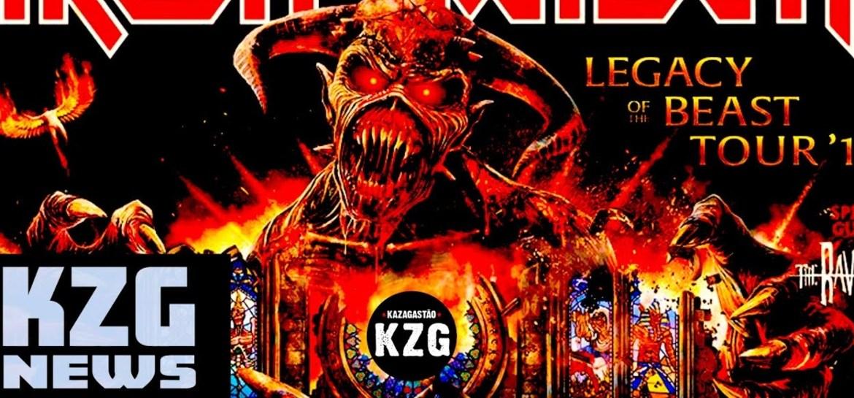 KZG News - Iron Maiden, Guns N' Roses