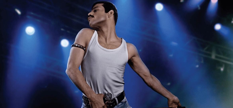 Rami Malek como Freddie Mercury no filme 'Bohemian Rhapsody'