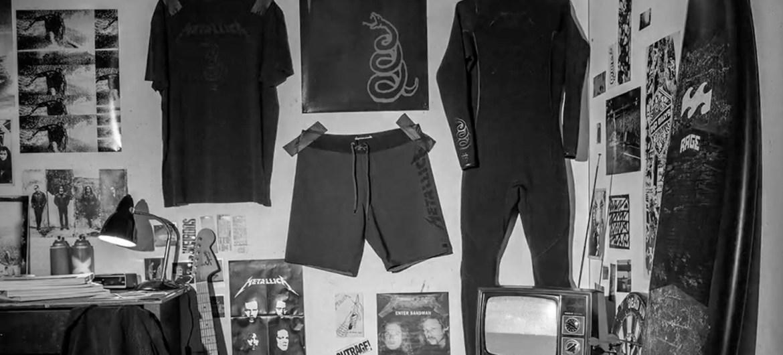 Metallica anuncia parceria com a marca Billabong para linha de roupa de surf
