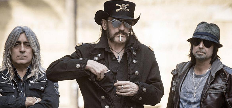 Motorhead: lemmy, mikkey dee e phil campbell