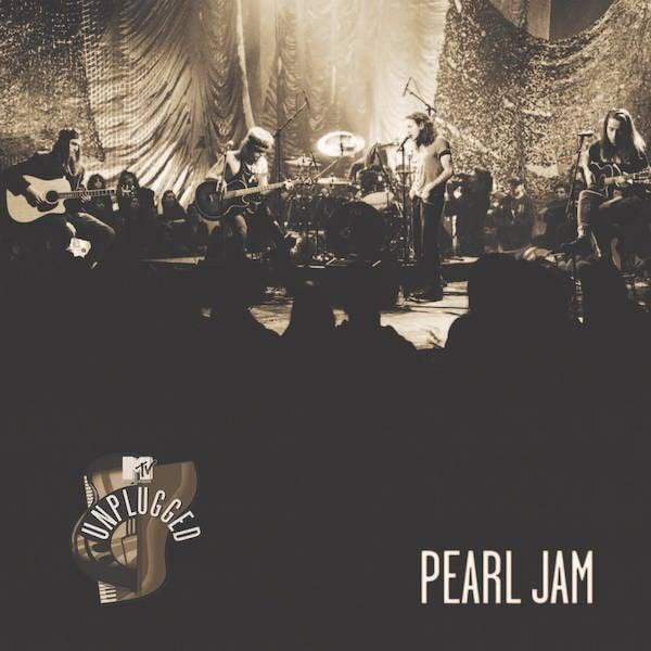 Capa do 'MTV Unplugged' do Pearl Jam