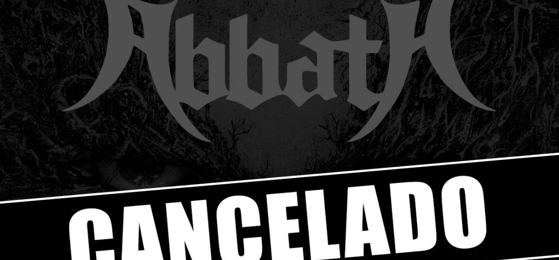 Abbath cancela show em São Paulo