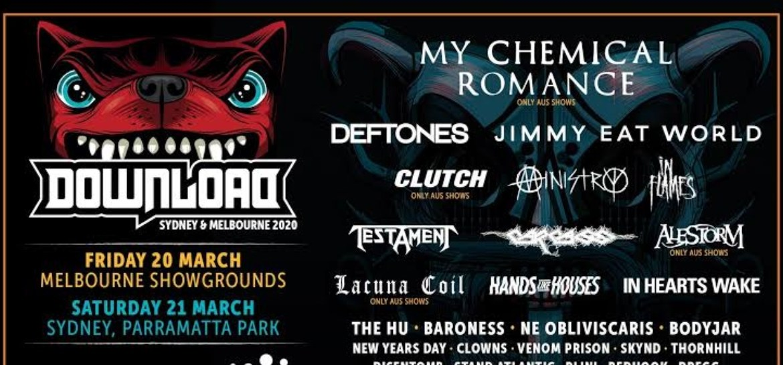 Download Festival Australia divulga lineup