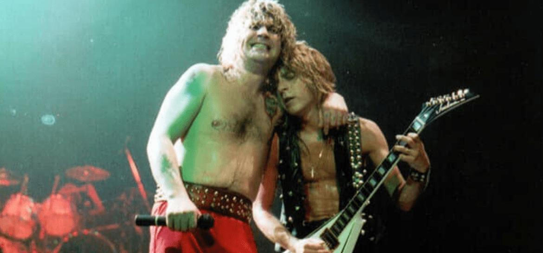Randy Rhoads e Ozzy Osbourne