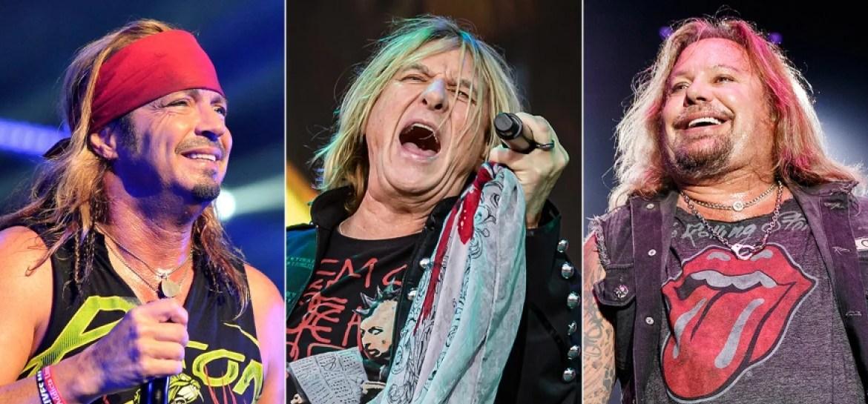 Mötley Crüe, Def Leppard e Poison