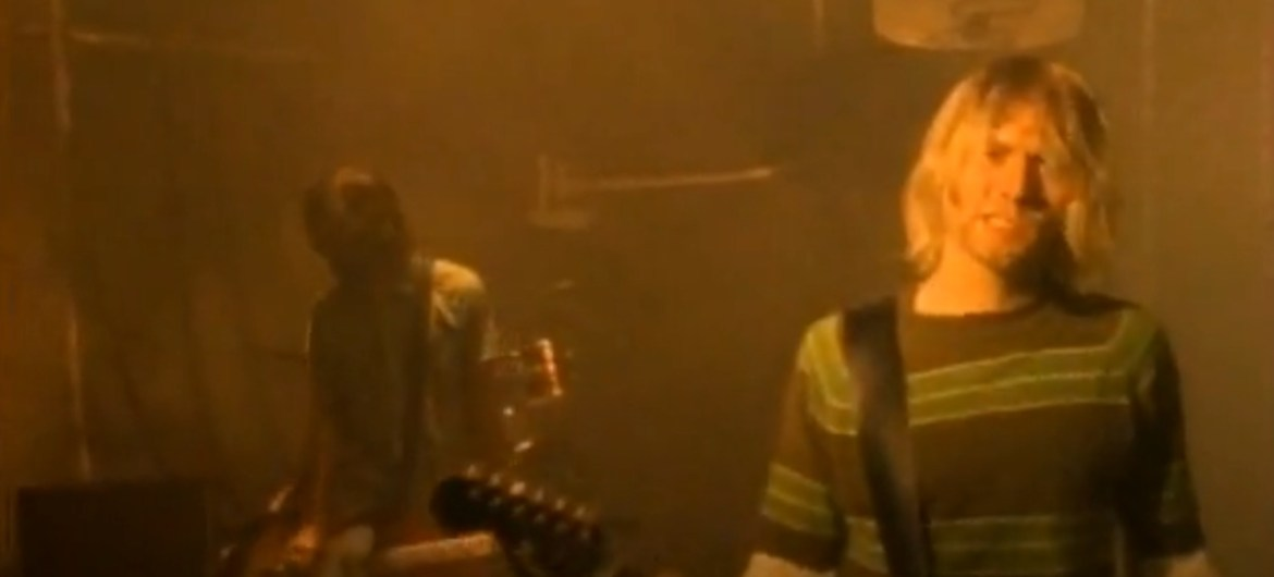 "Clipe de ""Smells Like Teen Spirit"""