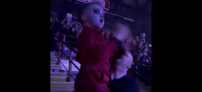 Garoto de 5 anos faz air drumming em show de Slipknot e viraliza