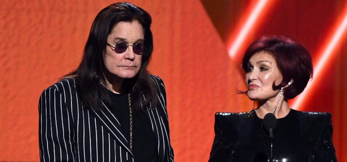 Ozzy Osbourne e Sharon no Grammy 2020