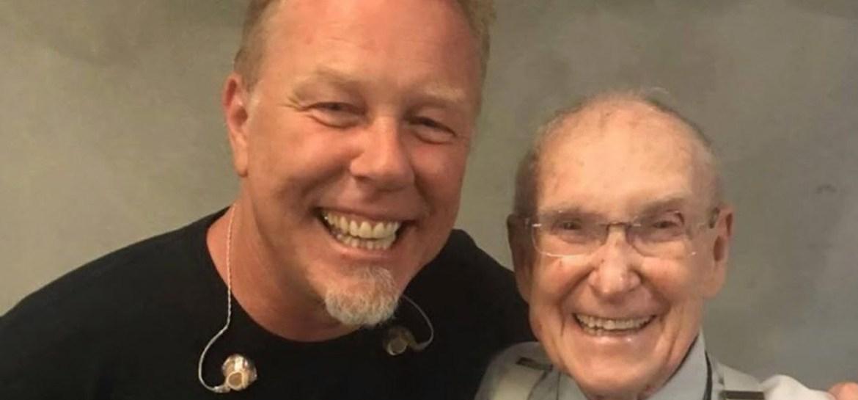 Ray Burton e James Hetfield