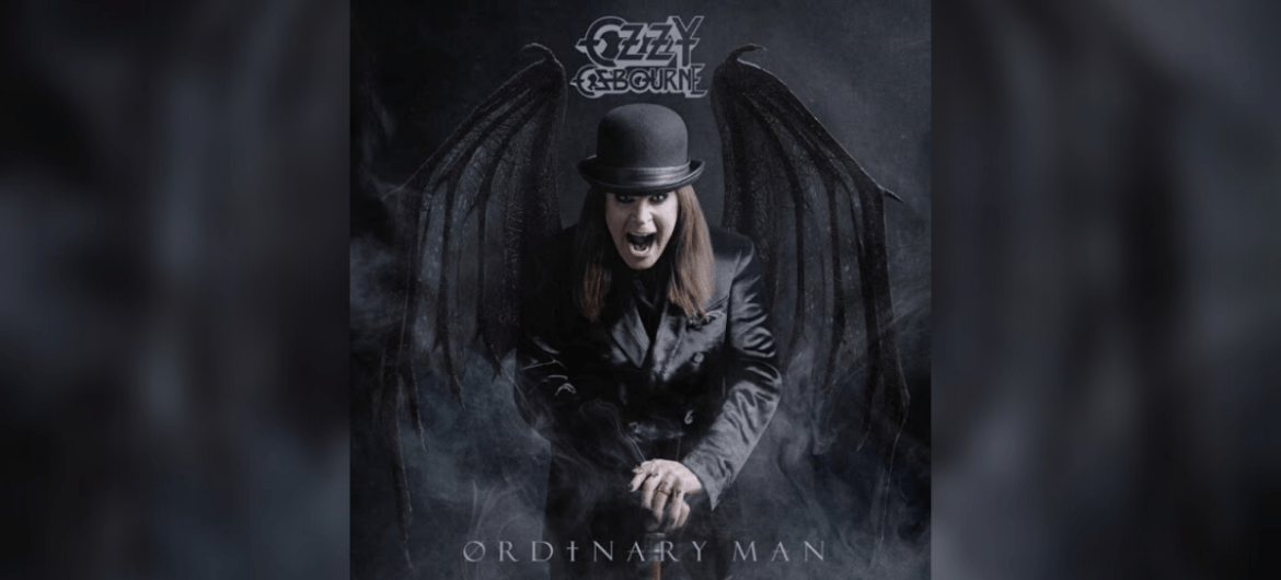 Capa do disco 'Ordinary Man' do Ozzy Osbourne