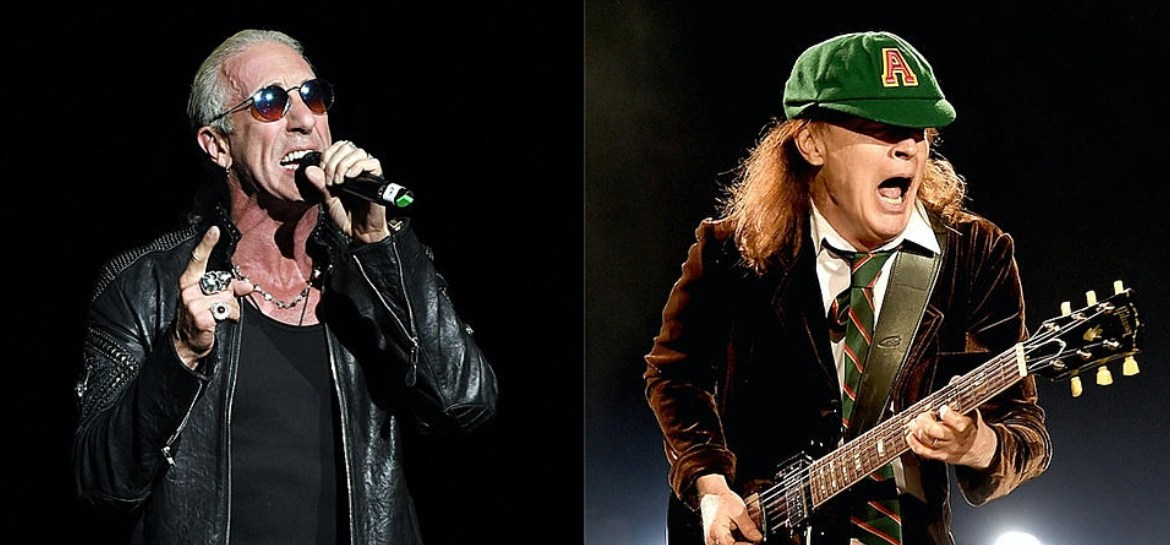Dee Snider e Angus Young