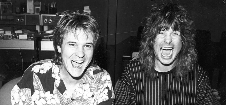 Keith Olsen e Ozzy Osbourne