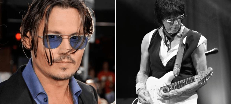 Johnny Depp e Jeff Beck