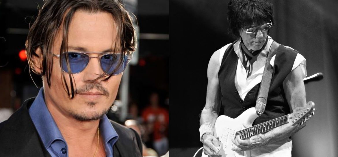 Johnny Depp e Jeff Beck